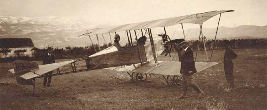 AERÓDROMO DE ARMILLA 1915 - Foto Ana María Gutiérrez García