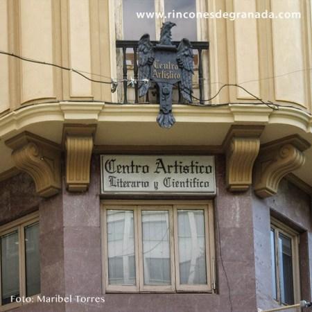 PORTADA - CENTRO ARTÍSTICO LITERARIO Y CIENTÍFICO DE GRANADA