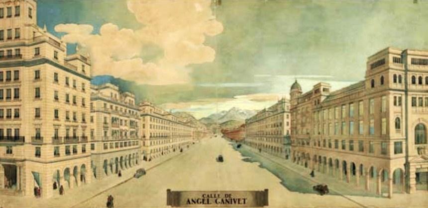 PROYECTO CALLE ÁNGEL GANIVET - 1943