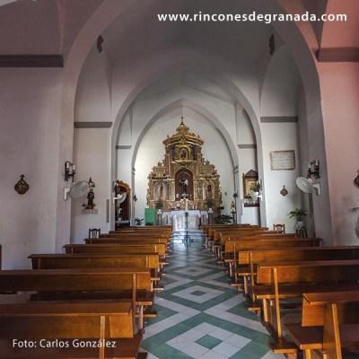 INTERIOR - IGLESIA DE SAN ANTONIO - LOBRES