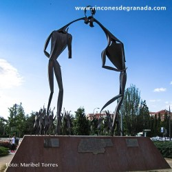 Monumento a la afición del Granada Club de Fútbol