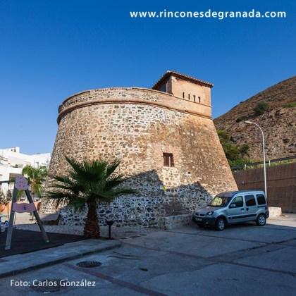 Frontal lateral - Fortín de Castillo de Baños - Hornabeque Castillo de Baños 001