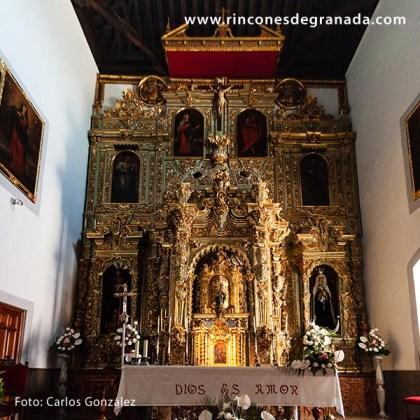 ALTAR - IGLESIA NUESTRA SEÑORA DE LA ENCARNACIÓN - LANJARÓN