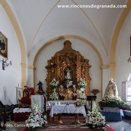 ALTAR MAYOR - IGLESIA DE SANTA MARÍA MAGDALENA - PINOS GENIL -1