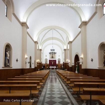 NAVE CENTRAL - IGLESIA DE SANTA ANA - CÁDIAR