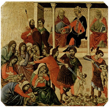 MATANZA DE LOS INOCENTES - Duccio di Buoninsegna