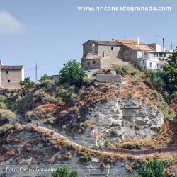 Zona del Murallón - donde se levantó el Castillo de Benamaurel