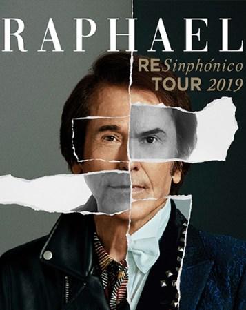 """Concierto Raphael """"RESinphónico Tour 2019"""" @ PALACIO DE DEPORTES DE GRANADA"""