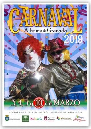 Programa del Carnaval de Alhama de Granada 2019