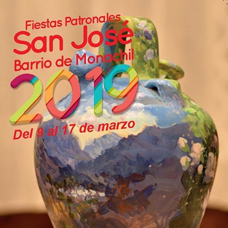 PROGRAMACIÓN FIESTAS DE SAN JOSÉ 2019 - MONACHIL