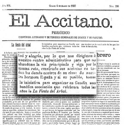 El accitano 4 de Marzo de 1897