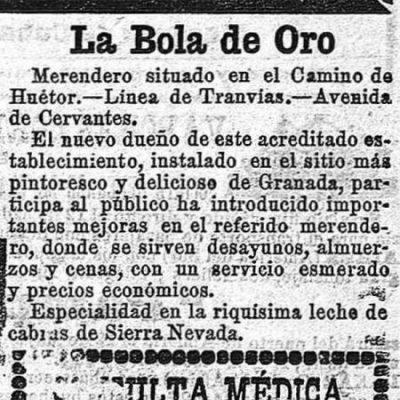 MERENDERO - BOLA DE ORO