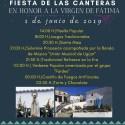 FIESTA DE LAS CANTERAS - EN HONOR A LA VIRGEN DE FÁTIMA