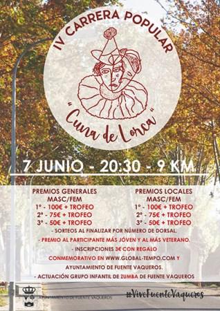 IV Carrera Popular Cuna de Lorca @ Fuente Vaqueros
