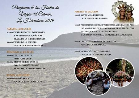 Fiestas de la Virgen del Carmen - La Herradura