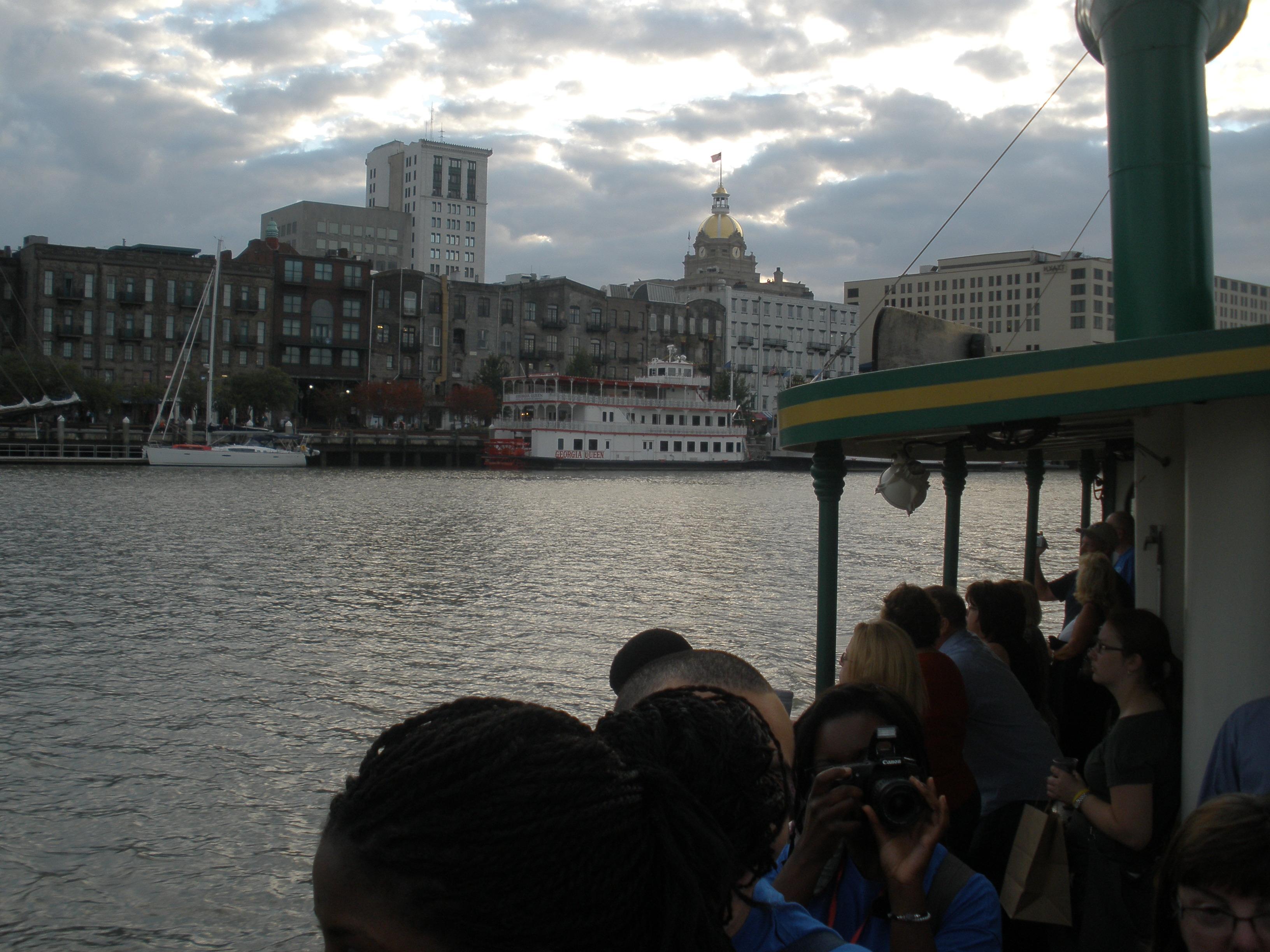Ferry across Savannah River