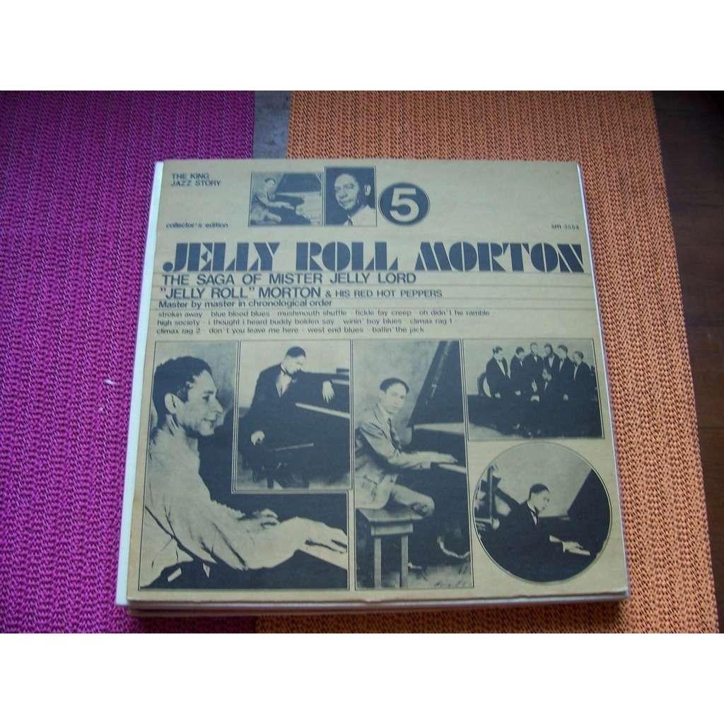 Jelly Roll Morton Jelly Roll Morton The Saga Of Mister Jelly Lord 33t En Vente Sur Cdandlp