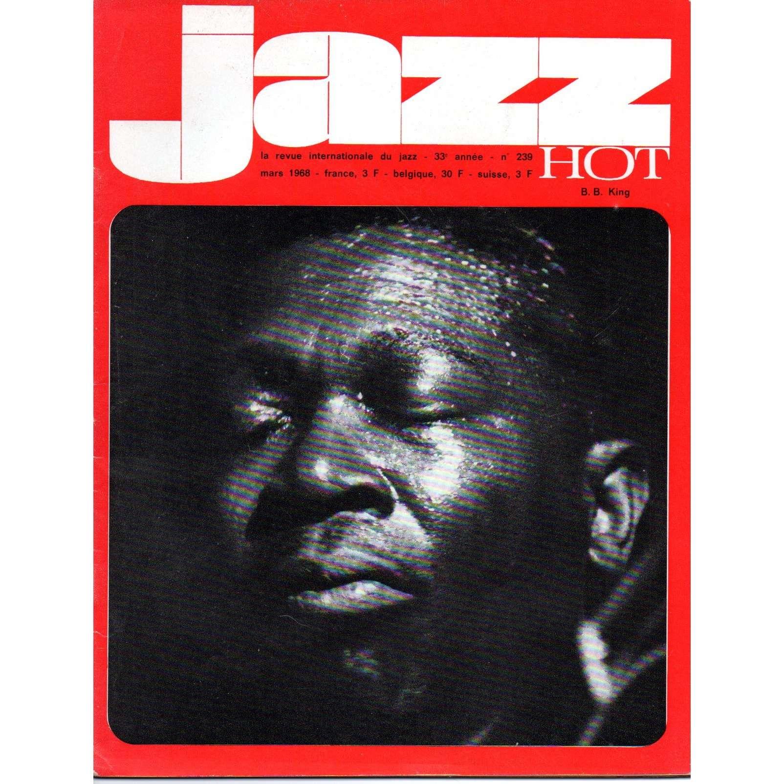 Jazz Hot N 239 De B B King Magazine Chez Swingsong