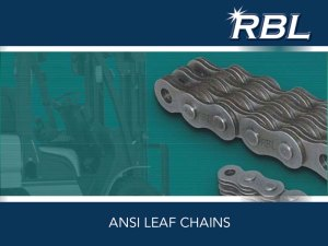 RBL ANSI Leaf Chains