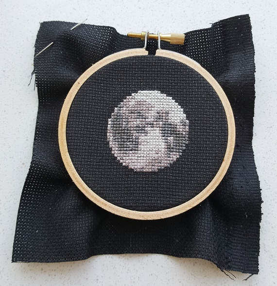 moon cross stitch pdf pattern