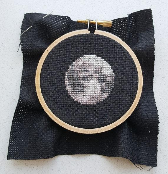 moon cross stitch pdf pattern
