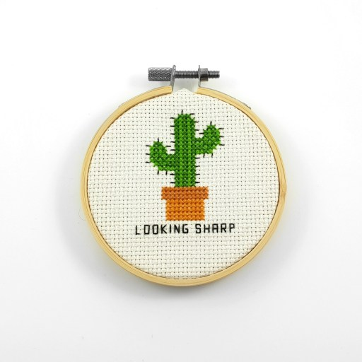 Looking sharp cross stitch pdf pattern
