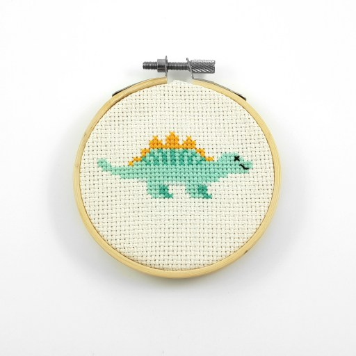 stegosaurus cross stitch pdf pattern