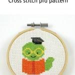 bookworm cross stitch pdf pattern