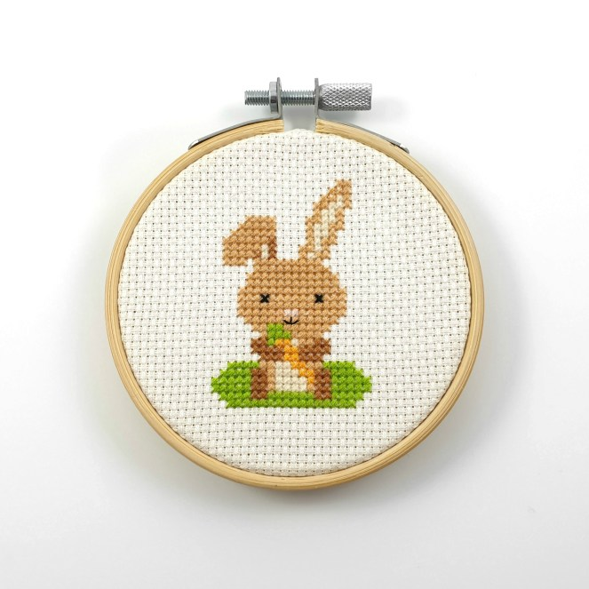 bunny cross stitch pdf pattern
