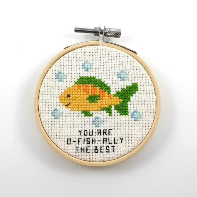 You are o-fish-ally the best cross stitch pdf pattern