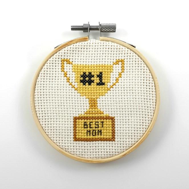 Best mom cross stitch pdf pattern