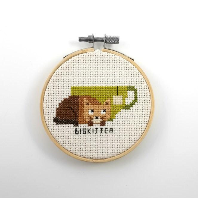 Biskittea cross stitch pdf pattern