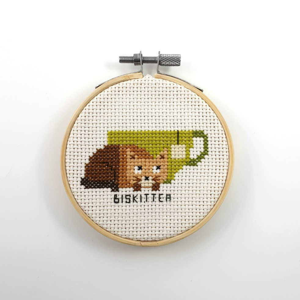 Biskittea cross stitch pdf pattern