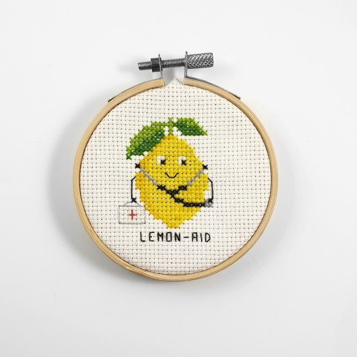 Lemon-aid cross stitch pdf pattern