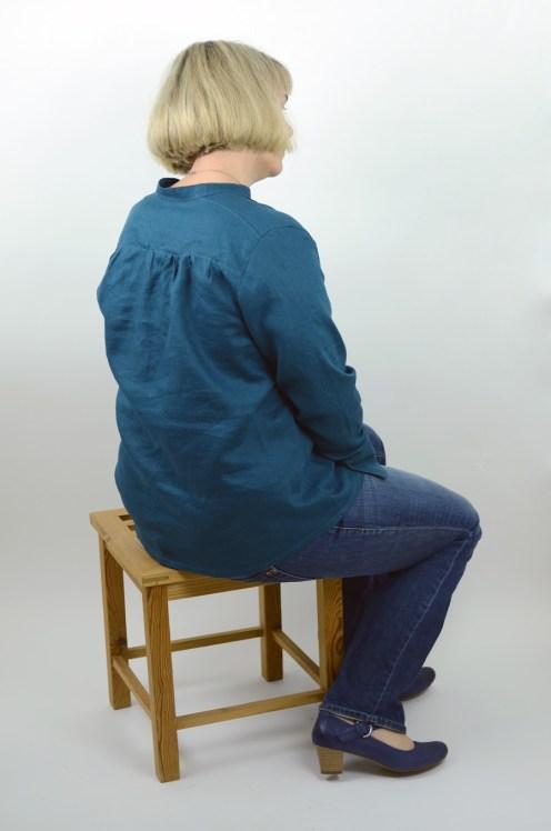 lillesol woman No.6 Blusenshirt Webware aus Leinen