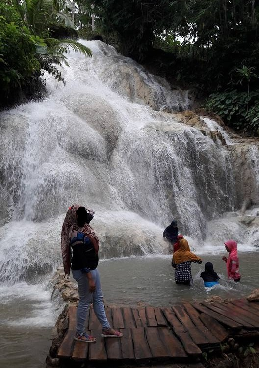 air terjun gedad