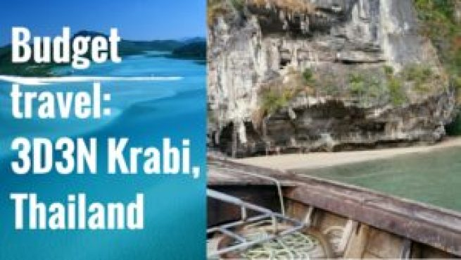krabi budget travel