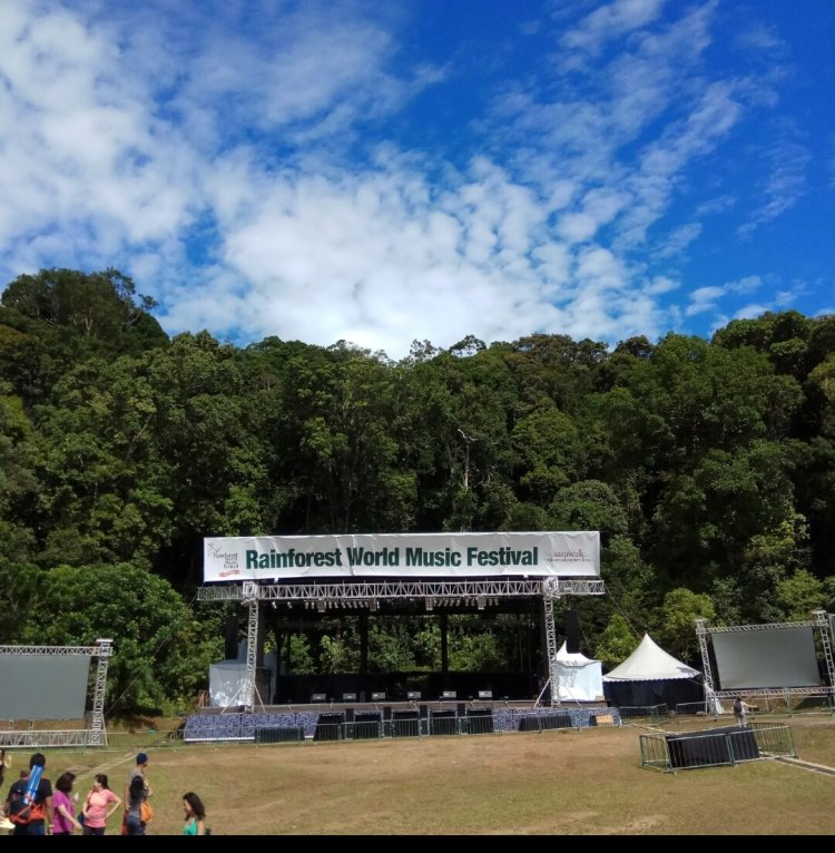 Rainforest World Music Festival 1