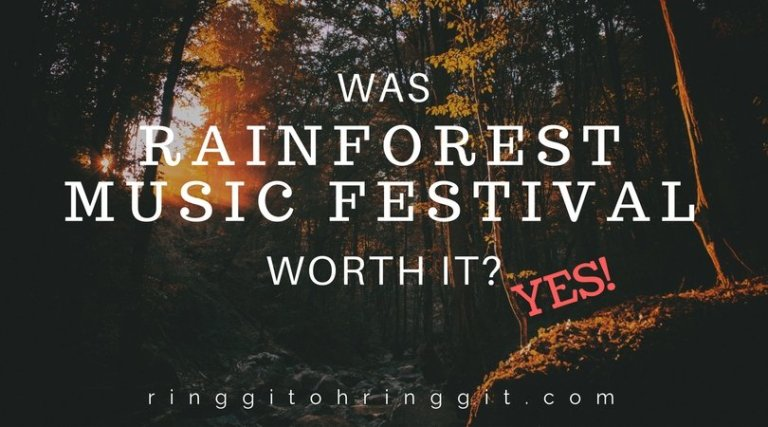 Rainforest World Music Festival+ Kuching weekend for under RM1000
