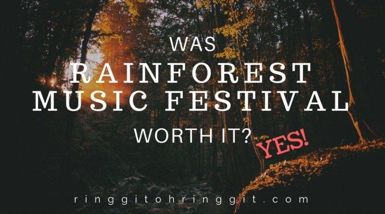 Rainforest World Music Festival+ Kuching weekend for under RM1000