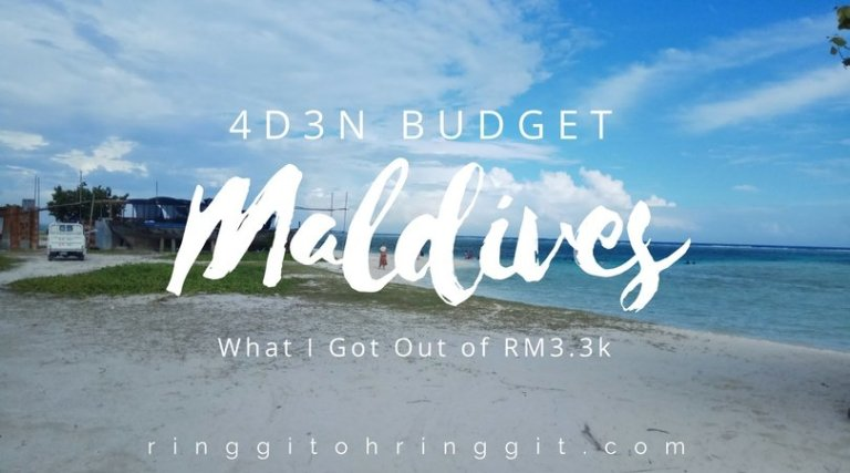 4D3N Maldives Trip: What I got for RM3.3k