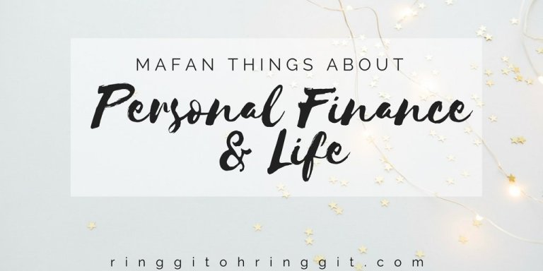All The Mafan Things About Personal Finance and Life