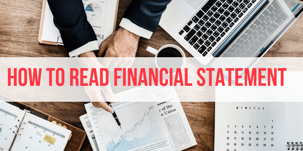 how to read financial statement