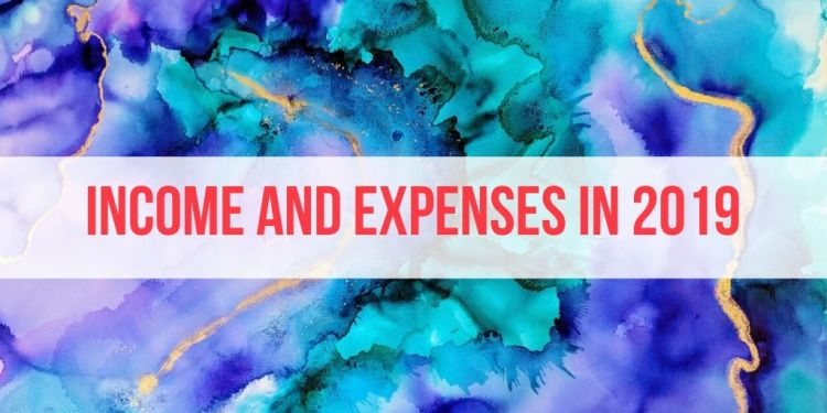 Total Income and Expenses in 2019