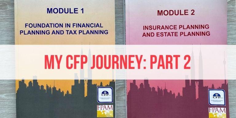 My CFP Journey, Part 2: What I Learned in CFP Module 1 & Module 2