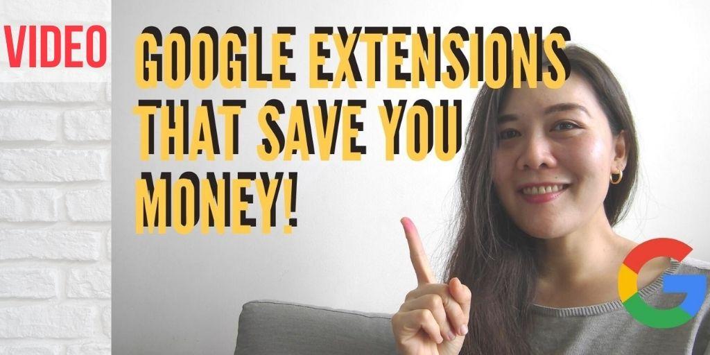 google extensions save money 1