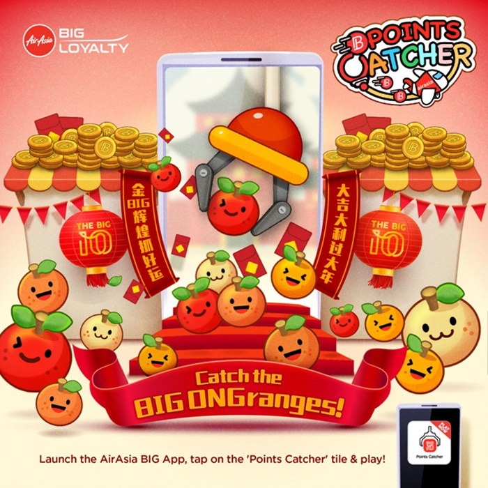 airasia big loyalty points catcher