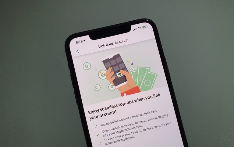 grabpay link to maybank2u