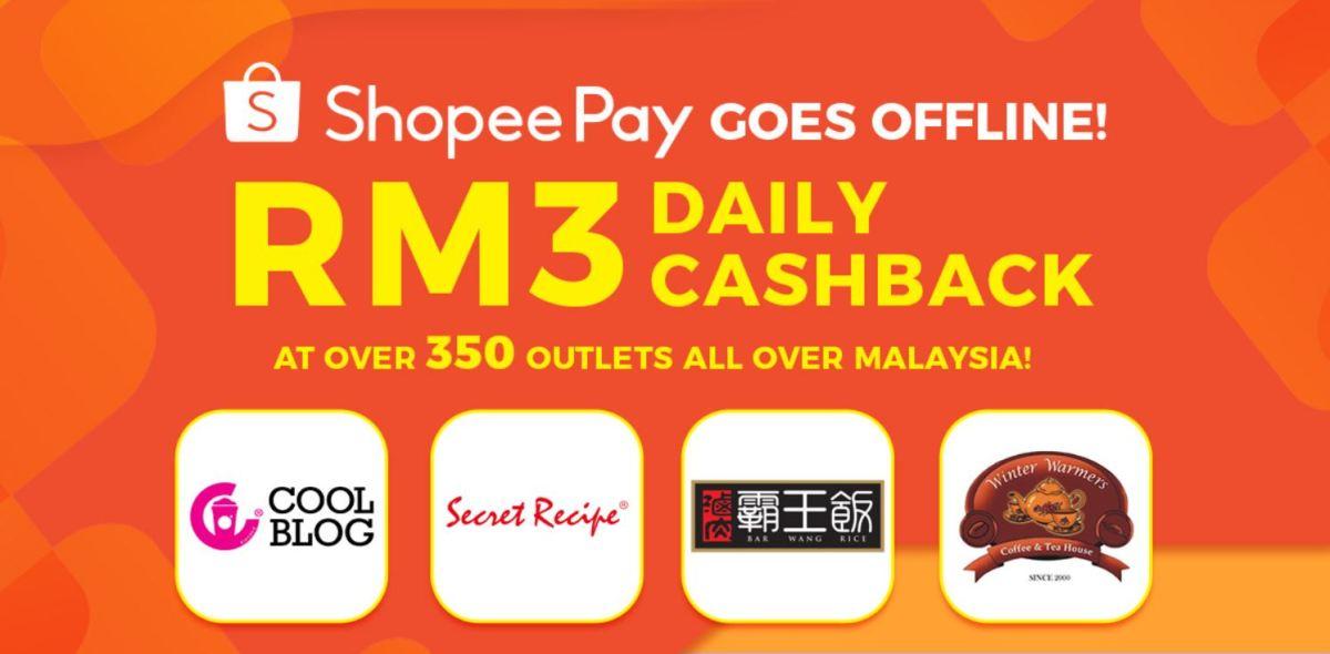shopeepay RM3 cashback campaign