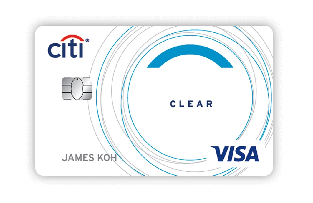 citi clear visa card